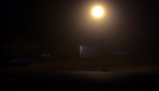 A foggy morning in Tulsa