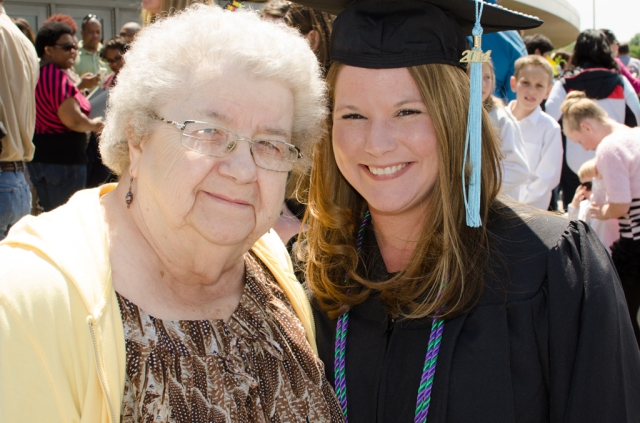 Nikki and her grandmother.  Both are a big part of my world.